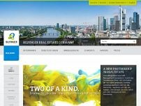 Bilfinger Real Estate website screenshot