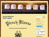 Pirsch-Klause website screenshot