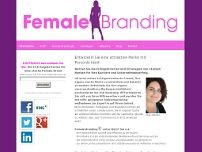 Female Branding website screenshot