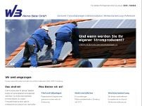 Werner Bäder GmbH website screenshot
