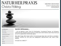 Christa Pölking website screenshot