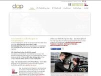 dap - das Autopfand website screenshot