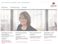 Swiss Life Select - Martina Dillbohner website screenshot