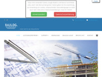 Baulog GmbH website screenshot