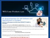 WelCome Products GmbH website screenshot