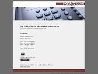 DAMcom website screenshot