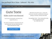 Inga Beißwänger website screenshot