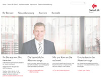 Swiss Life Select - Patrick Seck website screenshot
