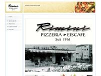 Eiscafe Pizzeria Rimini website screenshot