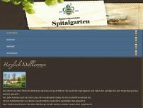Spitalgarten website screenshot