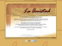 La Amistad website screenshot
