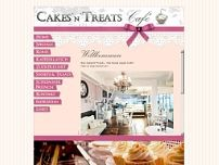 Cakes 'n' Treats website screenshot