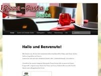 Pizza Pasta e Basta! website screenshot