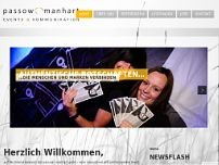 passow | manhart gmbh website screenshot