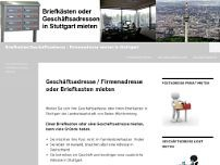Büroservice Stuttgart website screenshot