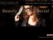 Kim Asmus website screenshot