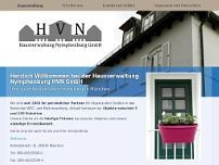 Hausverwaltung Nymphenburg HVN GmbH website screenshot