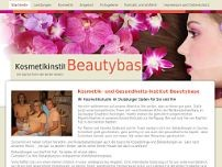 Beautybase Duisburg website screenshot