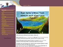 Spibo's Bikes website screenshot