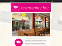Sen Restaurant website screenshot