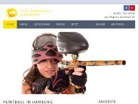 City Paintball Hamburg website screenshot