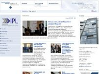 Institut für Prozessmanagement und Logistik Münster website screenshot