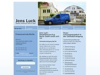 Jens Luck website screenshot