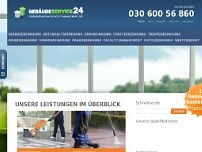 Gebäudeservice24 website screenshot