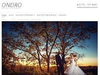 Hochzeitsfotograf ONDRO website screenshot