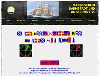 Marineverein Darmstadt und Umgebung e.V. website screenshot