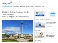 telegate MEDIA - Regional Manager Achim Winkelbeiner website screenshot