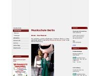 Musikschule Kolesnikov GbR website screenshot