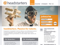 headstarters GmbH website screenshot