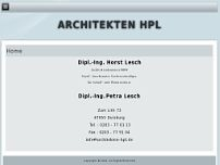 Dipl.-Ing. Horst Lesch website screenshot