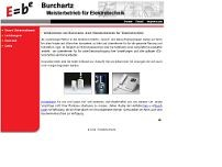 Heinrich Burchartz website screenshot