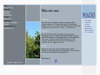 Ewald Balfer website screenshot
