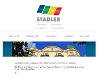 Josef Stadler website screenshot