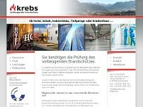 Dipl.-Ing. Reiner Krebs website screenshot