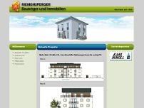 Riemensperger website screenshot