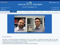 Rechtsanwälte Ernst & Mallok website screenshot