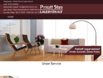 Parkett-Store website screenshot