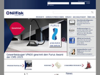 Nilfisk-Advance AG website screenshot
