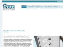 HFP Liftpartner GmbH website screenshot