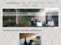Ferienhaus Pietscher Mainz website screenshot