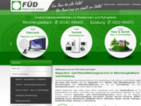 FÜD Elektronik GmbH website screenshot