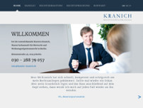 RA Karsten Kranich website screenshot