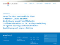 Eckert Malermeister website screenshot