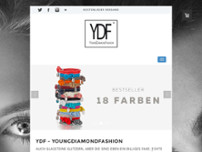 Youngdiamondfashion website screenshot