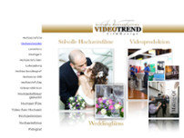Videotrend-Filmdesign  Hochzeitsvideo/Fotos website screenshot