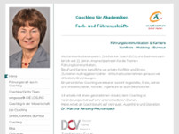 Dr. Martina Rehberg-Rechtenbach website screenshot